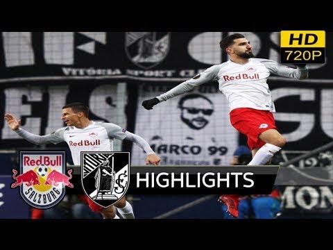 RB Salzburg vs Vitoria Guimaraes 3-0 - All Goals & Highlights (uefa europa league) 23/11/ 2017 HD
