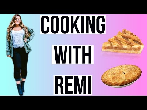 COOKING WITH REMI | Apple Pie!!