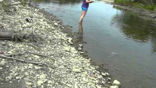 нахлыст рыбалка обучение практика