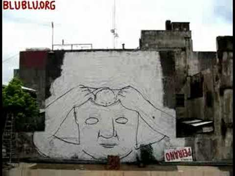 MUTO a wall-painted animation by BLU - YouTube