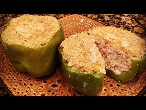 Stuffed Bell Peppers By The Cajun Ninja