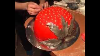 Торт своими руками. Торт Вдохновение из мастики(http://youtu.be/Ch06yhYvvB0 Один из лотов