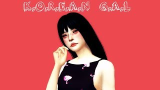 The Sims 4 : Create a Sim // Korean Casual