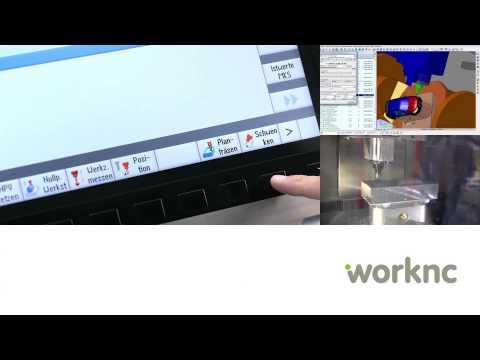 WorkNC | 가공영상