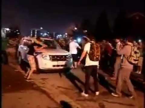 Riots in London, Ontario - Fanshawe College Part 2