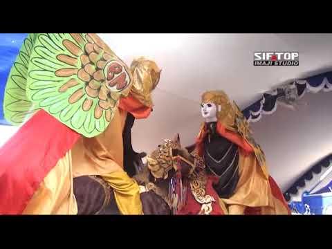 Atraksi Burok Barongsai Naik Singa Dangdut   BUNGA NADA Live Pilangsari Negla Losari