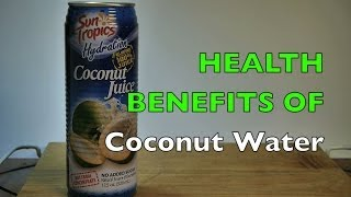 Health Benefits of Coconut Water Like Zico / One / c2o & Other Pure Real Raw Juice Recipe Brands