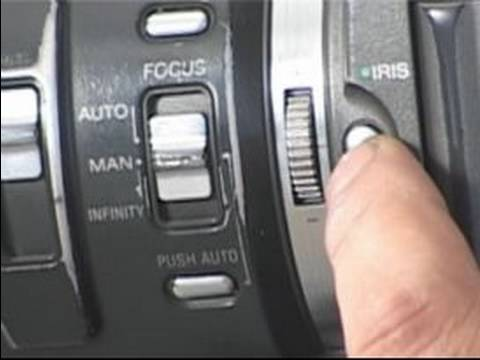 How to Operate a Digital Video Camera : How to Focus a Digital Video Camera
