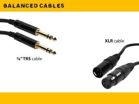 Af025 Balanced And Unbalanced Cables Doovi