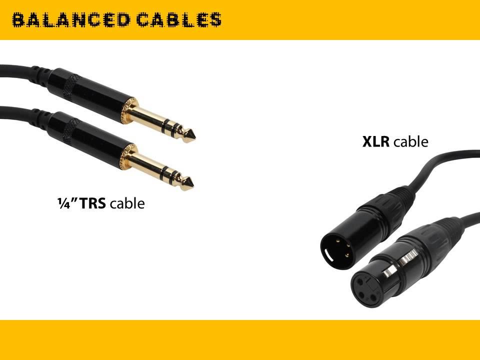 Balanced To Balanced And Balanced To Unbalanced Audio Wiringtable
