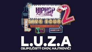 HIPHOP REALITY LIVE #47 - L.U.Z.A |NAŽIVO|