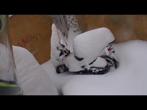 Karda Motora Mı Binilir :) -  Karda Mahsur Kaldım.