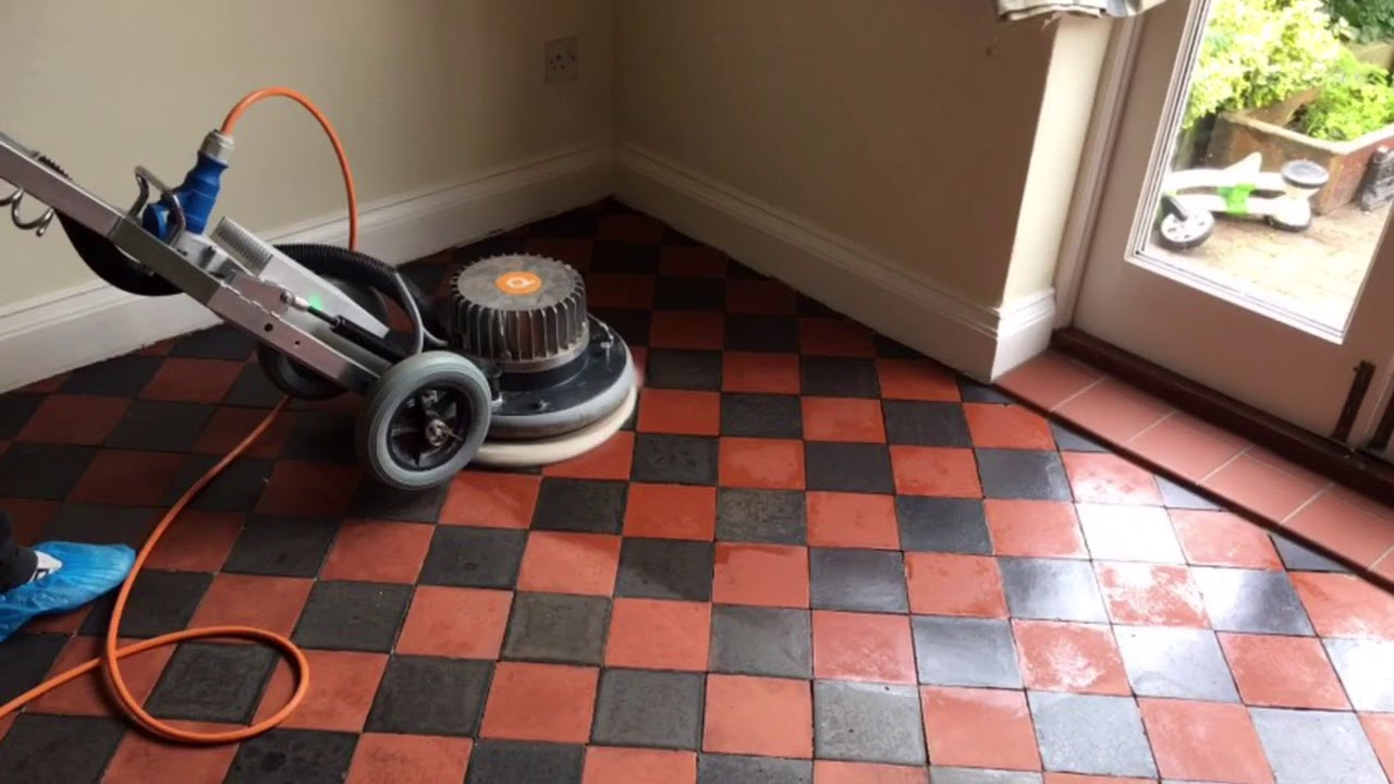 Cleaning victorian quarry tiles in hull youtube cleaning victorian quarry tiles in hull dailygadgetfo Choice Image