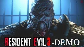 Resident Evil 3 | Full DEMO Gameplay Walkthrough No Commentary