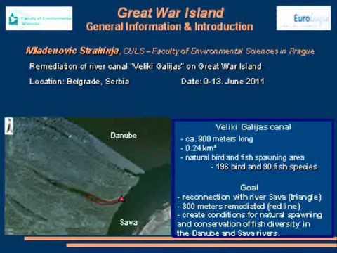 Great War Island - Remedation of Veliki Galijas canal