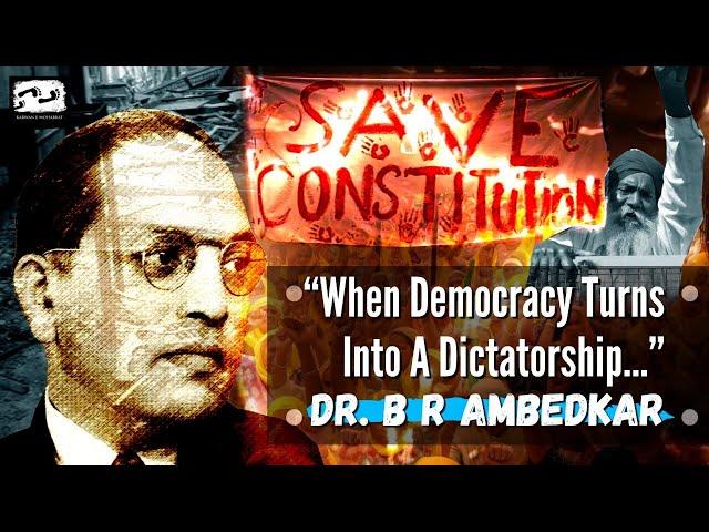 Dr. B R AMBEDKAR -