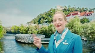 KLM destination Graz