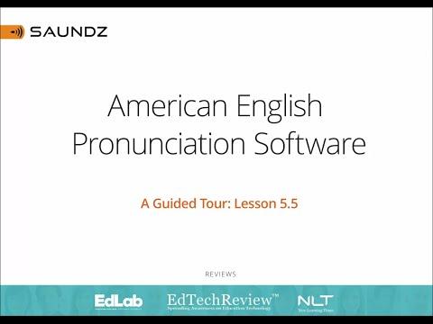 Probando Saundz – American English Pronunciation Software – Eingleses