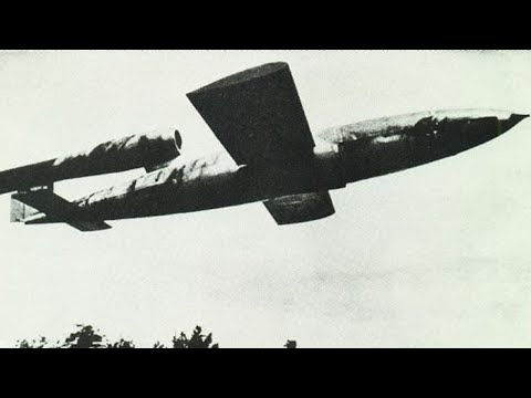 V1 Racken Flying Bomb - Creepiest Sound Ever Recorded