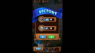 Smurf Bubble Story Game Level 16 | The Lost Village Game