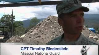Missouri Guardsmen Build First School in Micheletti, Honduras