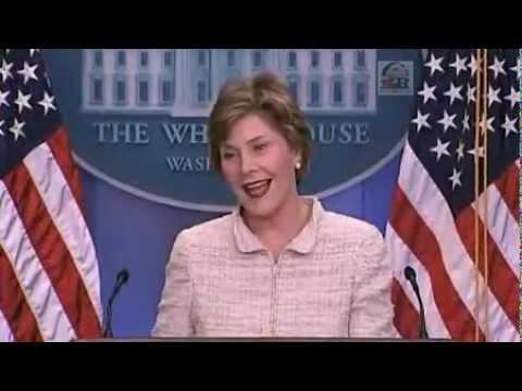 Laura Bush - Burma Crisis Briefing