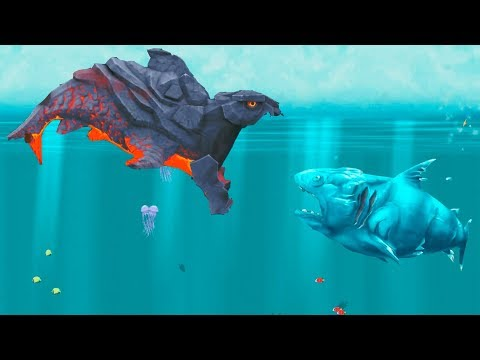 Hungry Shark Evolution Pyro Shark Android Gameplay #35
