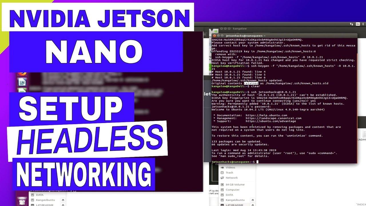 Jetson Nano - Headless Setup