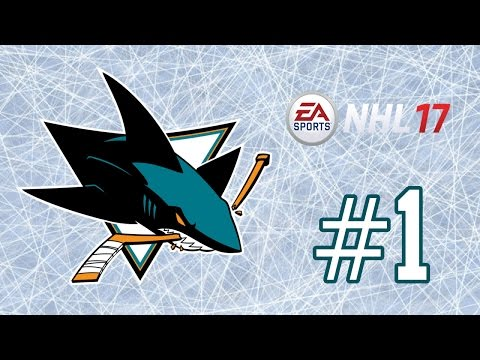 NHL 17 ~ San Jose Sharks GM Mode Commentary ~ #1 (Introduction)