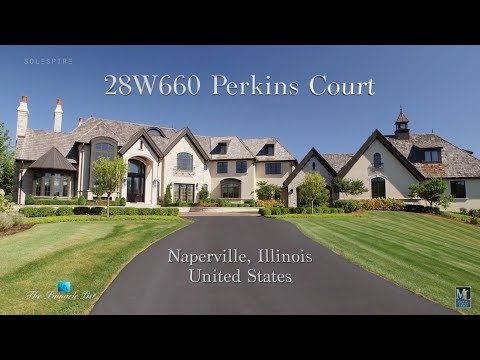 28W660 Perkins Ct, Naperville, Illinois, USA 🇺🇸 | Luxury Real Estate