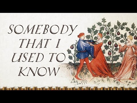 Somebody That I Used To Know (Bardcore/Medieval Style Cover with Vocals)