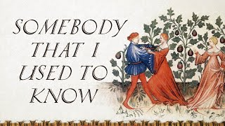 Somebody That I Used To Know (Bardcore | Medieval Style Cover with Vocals)