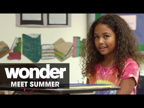 Wonder 2017 Movie – Meet Summer Millie Davis