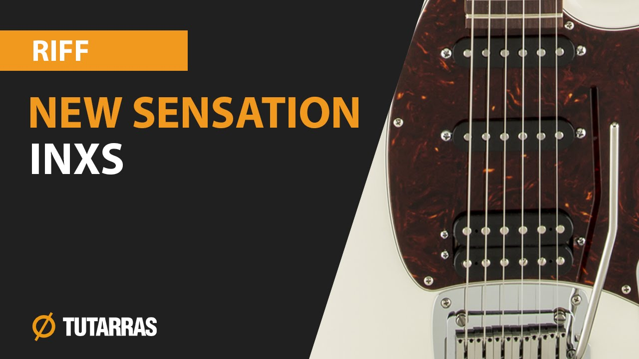 new sensation inxs electric guitar how to play the main riff youtube. Black Bedroom Furniture Sets. Home Design Ideas