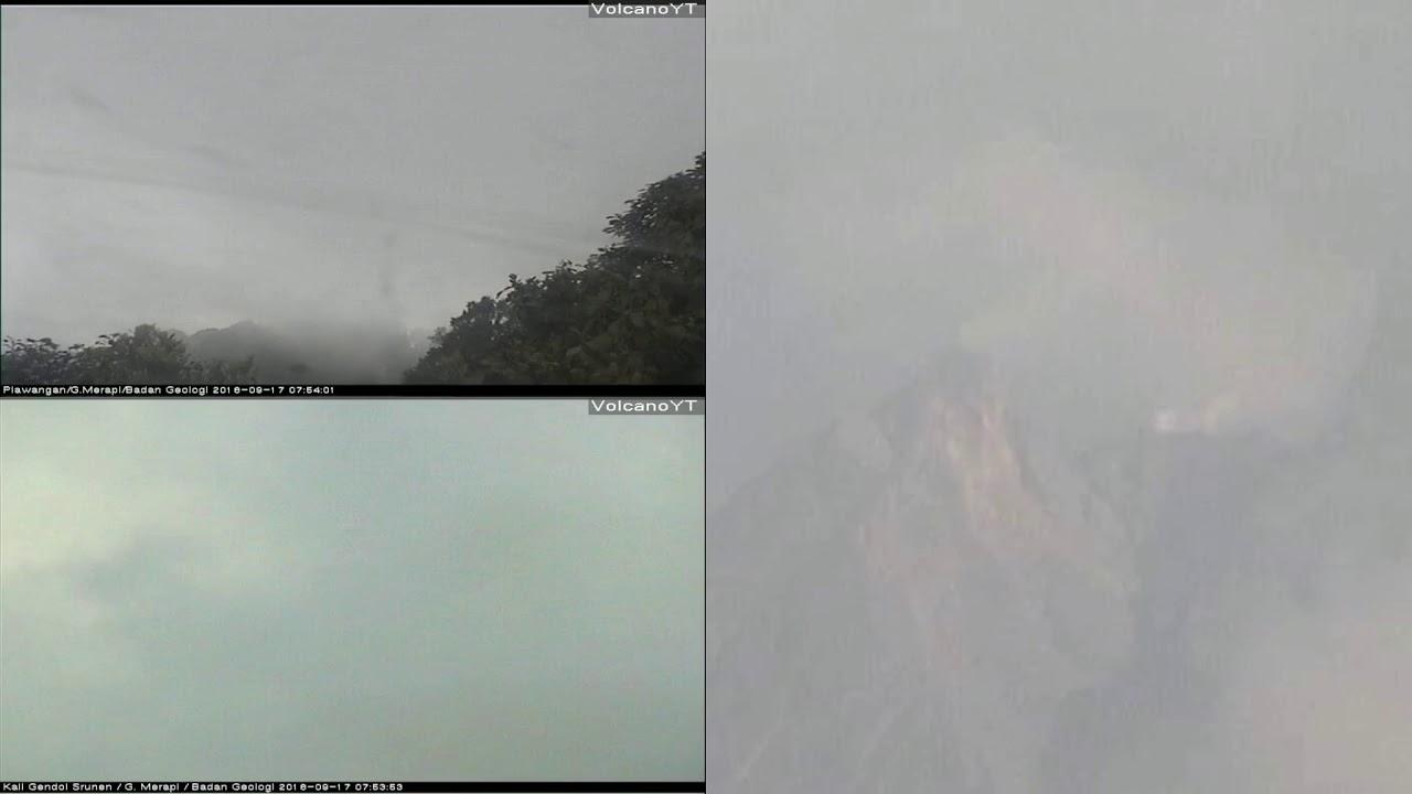 17/9/2018 WITA - Mt Merapi TimeLapse (MultiView)