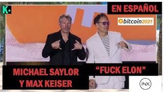 Imagen del video: En español, Michael Saylor y Max Keiser en Bitcoin 2021,al grito de