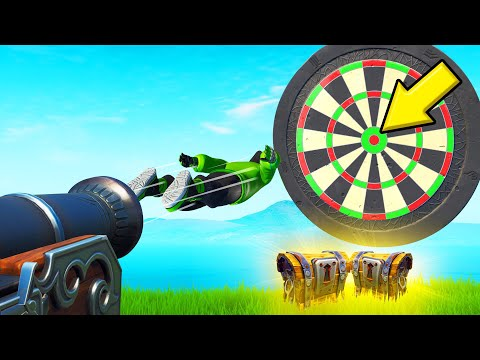 Hit The BULLSEYE To WIN LEGENDARY LOOT! (*NEW* Fortnite Darts)