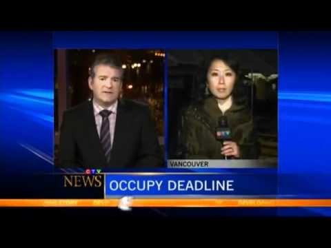 Occupy Vancouver Protesters Occupy Courthouse - CTV Nov 21