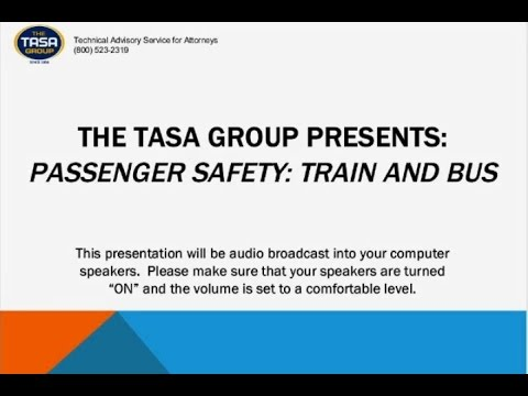 Passenger Safety: Train and Bus