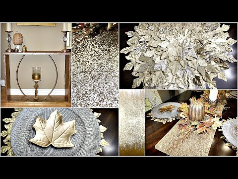 Dollar Tree Dinning Room DIY's & Style|| Z Gallerie Inspired Accent Table|| Picture|| And Placemats