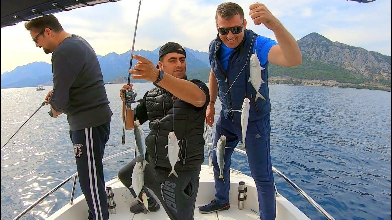 Akdeniz'de Çapariyle Yakalamadığımız Balık Kalmadı !!