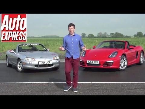 Building a modified Mazda MX-5/ Miata to beat a new Porsche Boxster (Pt 1)