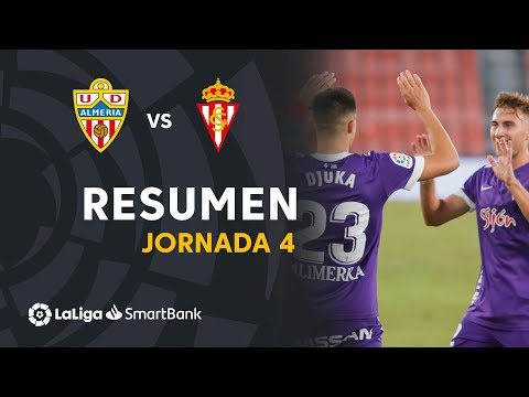 Almeria Gijon Goals And Highlights