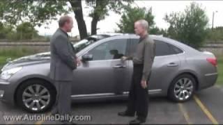 First Look Hyundai Equus Walkaround and Drive