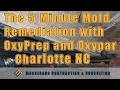 The 5-Minute Mold Remediation with OxyPrep and Oxypar - Charlotte NC