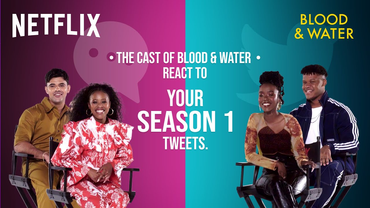 Download The Cast of Blood & Water React To Your Tweets