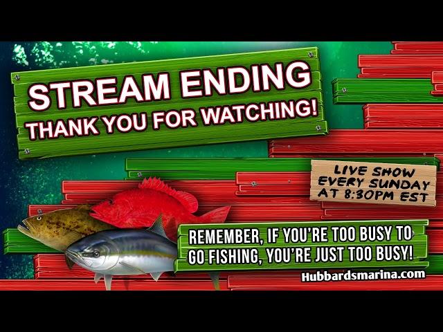 Sunday night 6-6-21 | LIVE STREAM FISHING SHOW 8:30PM weekly! | https://HubbardsMarina.com