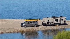 Camped at Beautiful Lake Pleasant Regional Park-Maricopa County, Arizona