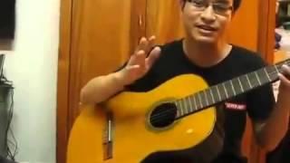 hướng dẫn chơi nhạc chế trong tù -guitarist Dzung
