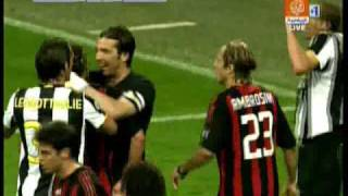 Maldini and Chiellini's little scuffle. thumbnail